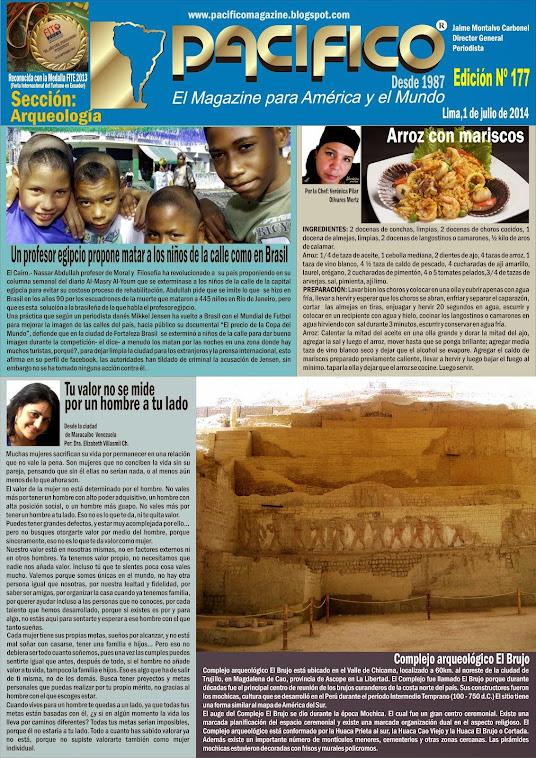 Revista Pacífico Nº 177 Arqueología