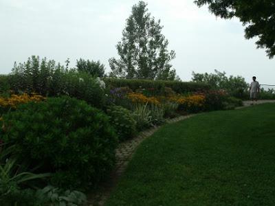 English perennial border Rosetta McClain gardens by garden muses: a Toronto gardening blog