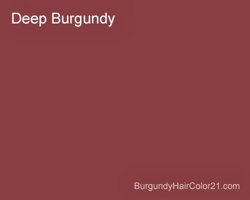 Deep burgundy hair color - Deep burgundy paint color ...