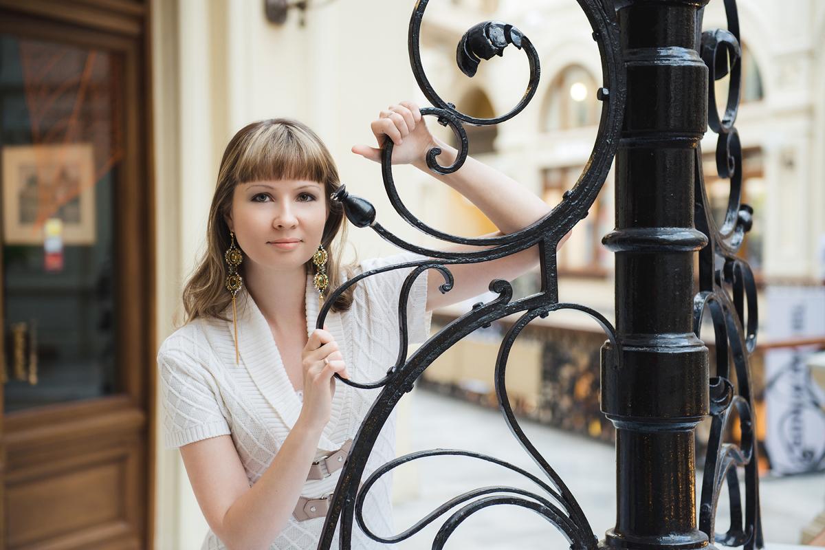 О жизни: Моя фотосессия с серьгами Сумрачный блеск