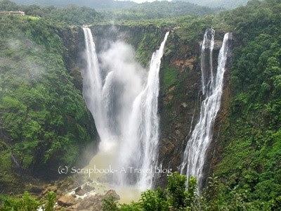 Jog Falls near Sagar, Karnataka, India