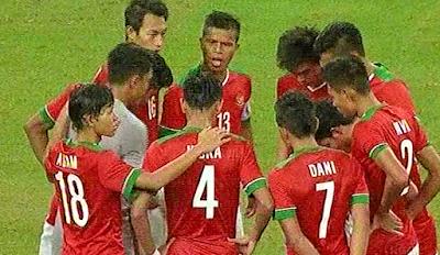 Timnas U23 Indonesia Takluk 5-0 dari Thailand di Semifinal Sea Games 2015
