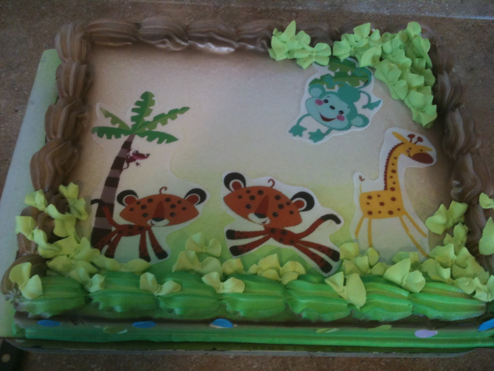 hector 39 s custom cakes baby shower safari themes