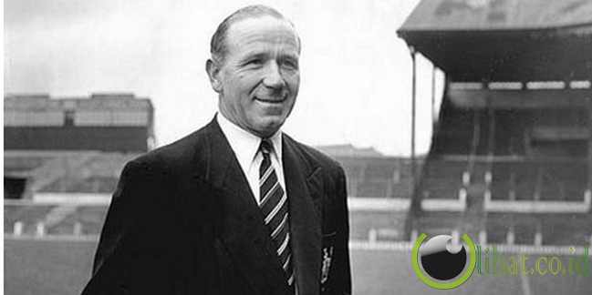 5. Sir Matt Busby - Manchester United