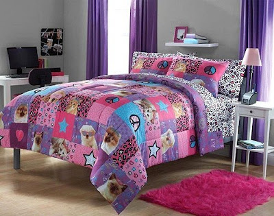 Collage Style Peace Sign Bedding. Bedroom Decor Ideas and Designs  Peace Sign Bedding Ideas