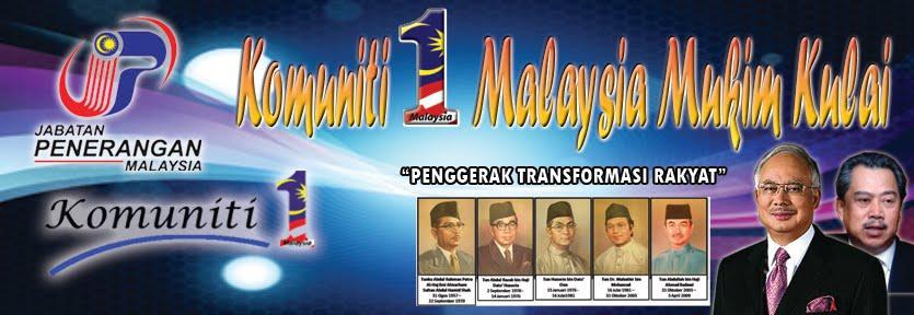 KOMUNITI 1 MALAYSIA MUKIM KULAI