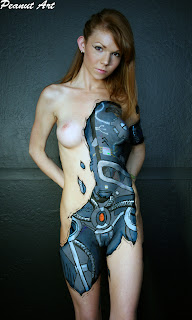Airbrush Body Paint Women