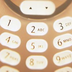 touches de téléphone