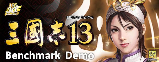 Sangokushi13 Benchmark Demo