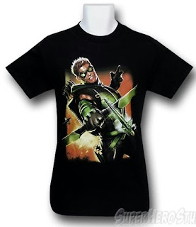 Click here to purchase Green Arrow New 52 #1 t-shirt at SuperHeroStuff!
