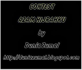 http://duniazumal.blogspot.com/2013/11/contest-azam-hijrahku.html