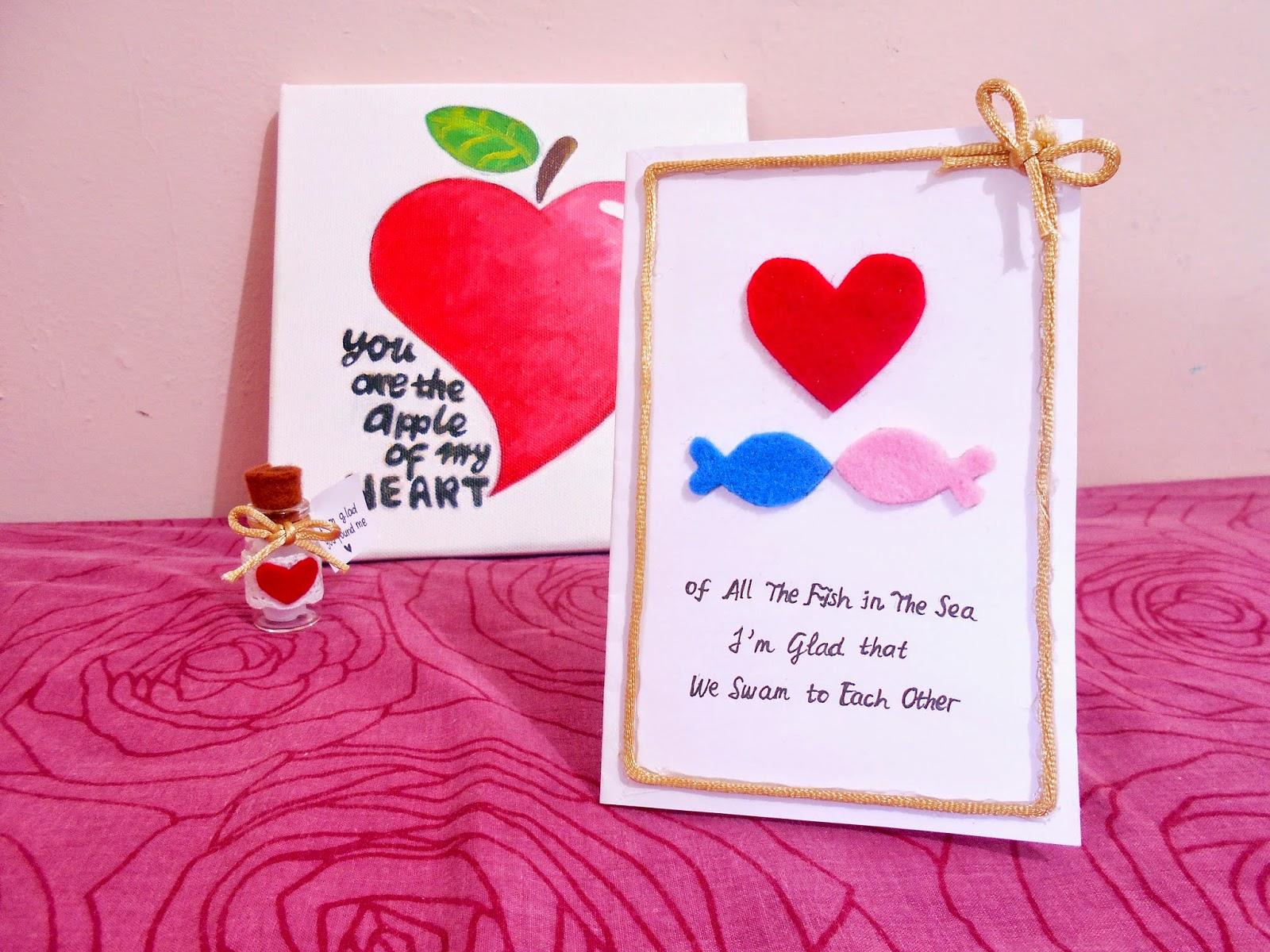diy valentine card for husband