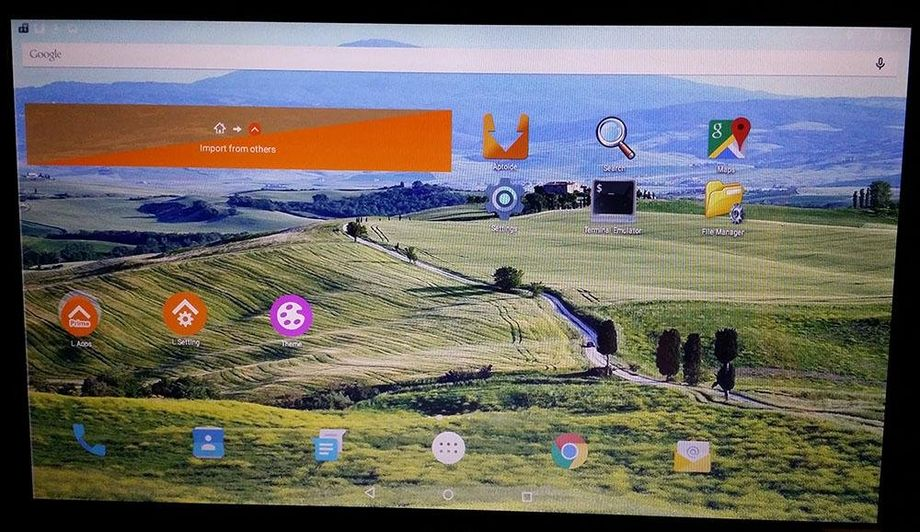 AndEX Android x86 Lollipop