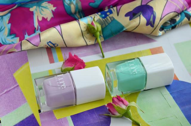 E_katerina: лаки для ногтей Kure Bazaar nail polish Caicos и Fuji