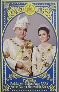Pertabalan Sultan Perak Ke 35 : 6 Mei 2015.