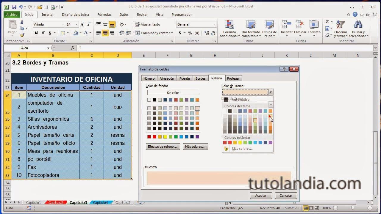 Informatica 1: Márgenes y sangrías en Excel Y Gráficos en una hoja ...
