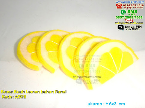 Bros Jeruk Lemon Flanel