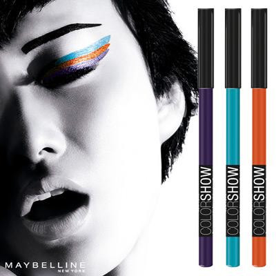 color Show Liner de Maybelline nuevos lapices de ojos