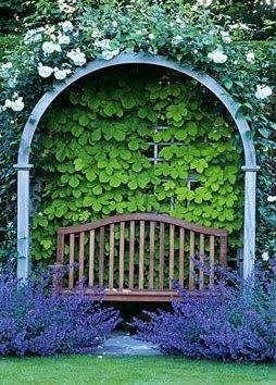 Garden Alcove Ideas