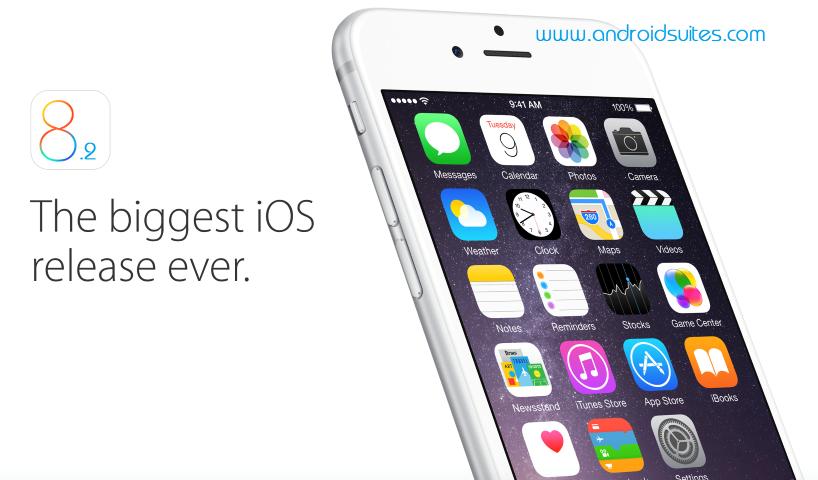 Fitur Update iOS 8.2 Terbaru