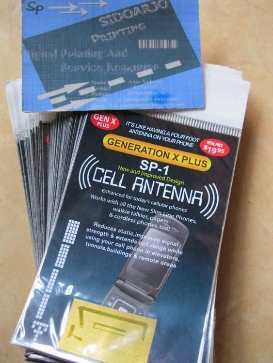 Sidoarjo Printing Sticker Penguat Sinyal Induksi Penguat