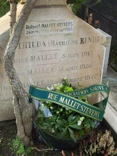 70 ans du décès de Robert Mallet-Stevens
