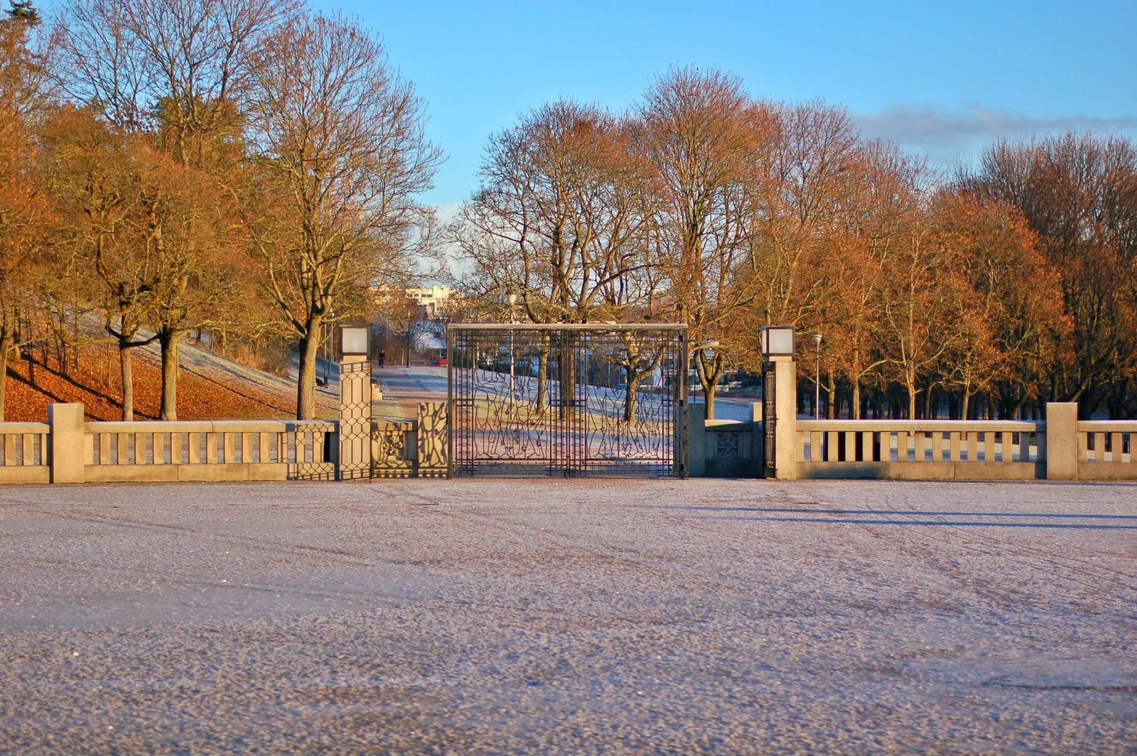 vigeland park, oslo, noruega