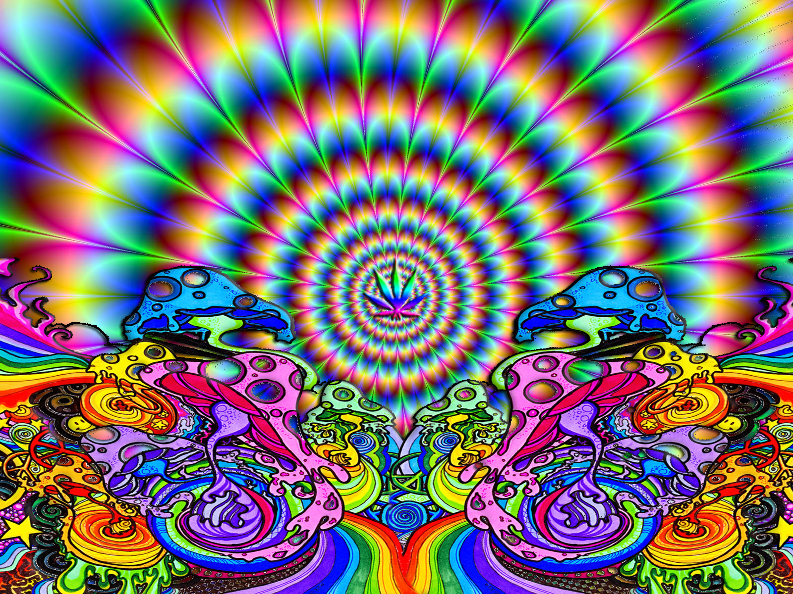 Trippy Wallpaper Art | Free Download Wallpaper | DaWallpaperz