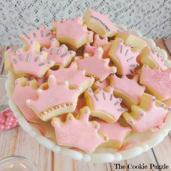 Royal Baby Shower Cookies