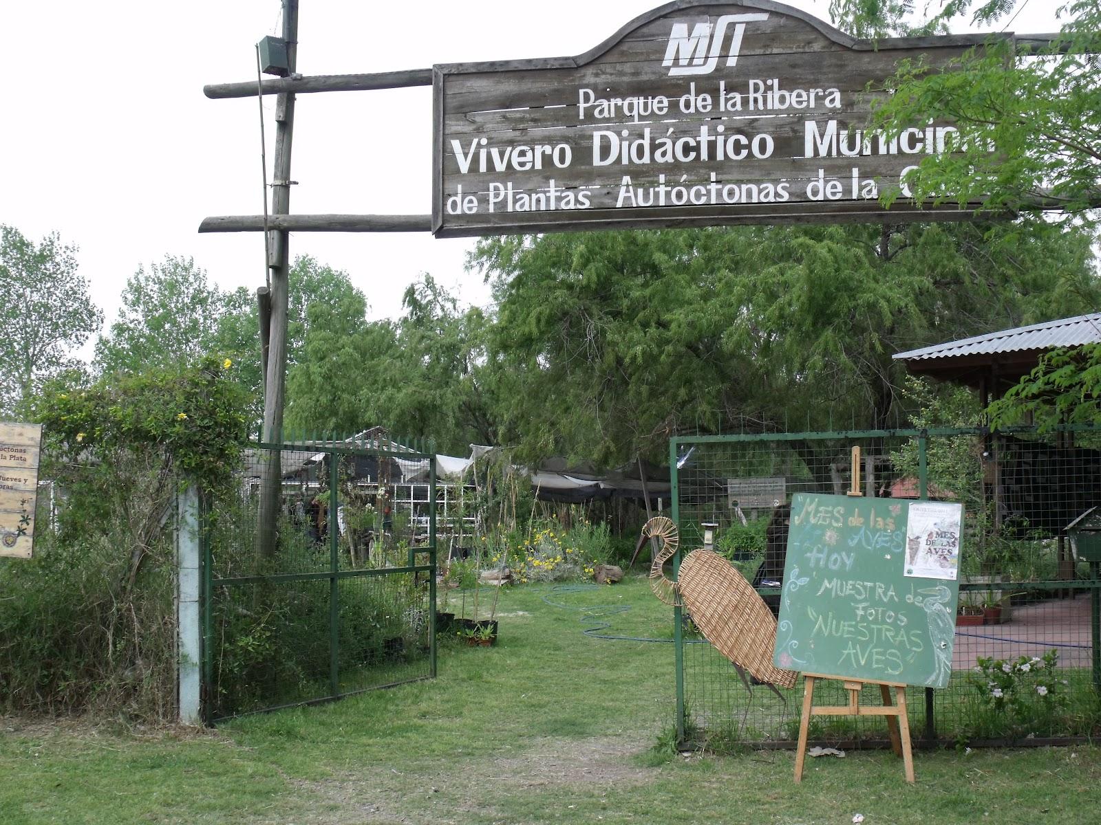 Naturaleza y cultura el vivero de ribera norte for Viveros en la plata