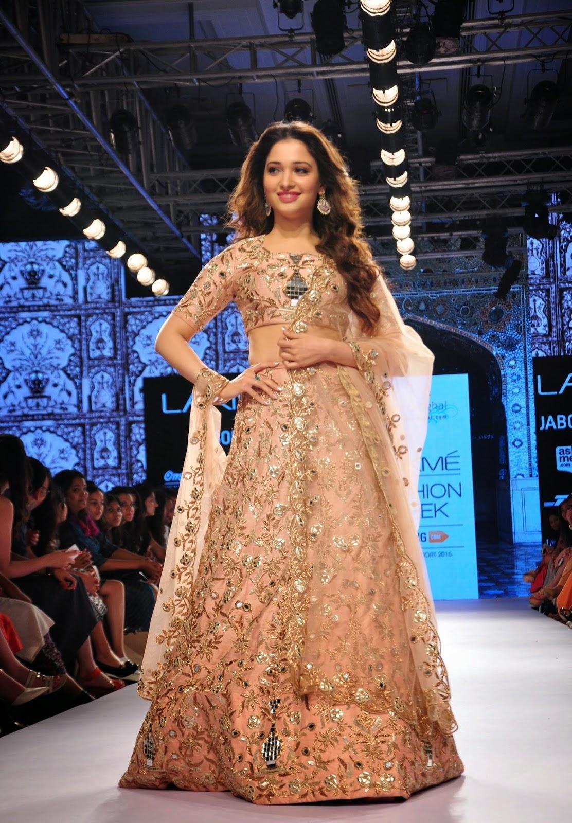 Tamanna Bhatia Latest Photos At Lakme Fashion Week 2015