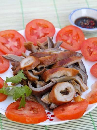Bao tử khìa nước dừa - Vietnamese Pork Recipes