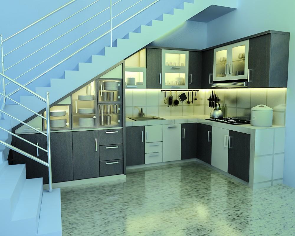 Kitchen set dapur kecil kitchen set minimalis di kota malang for Kitchen minimalis