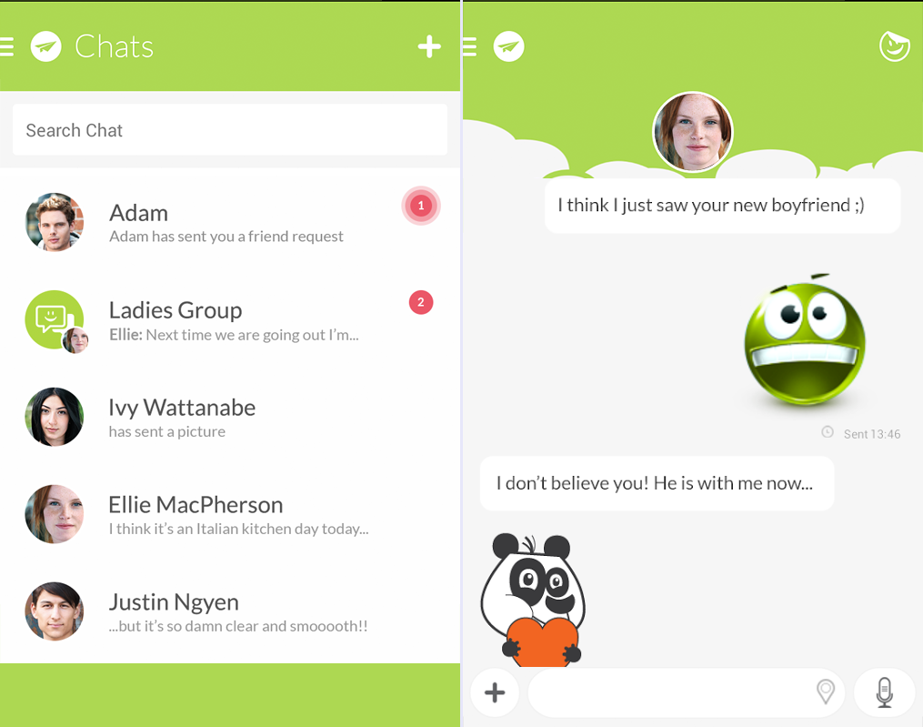 Free download official Jongla Chat Android .apk full install