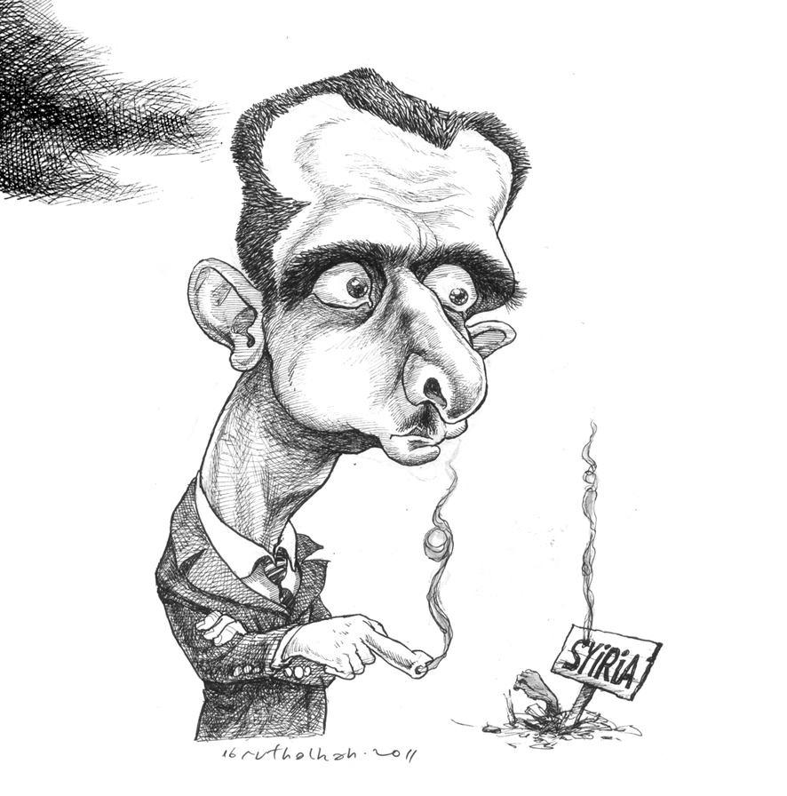 pesona karikatur tokoh by abdullah ibnu thalhah