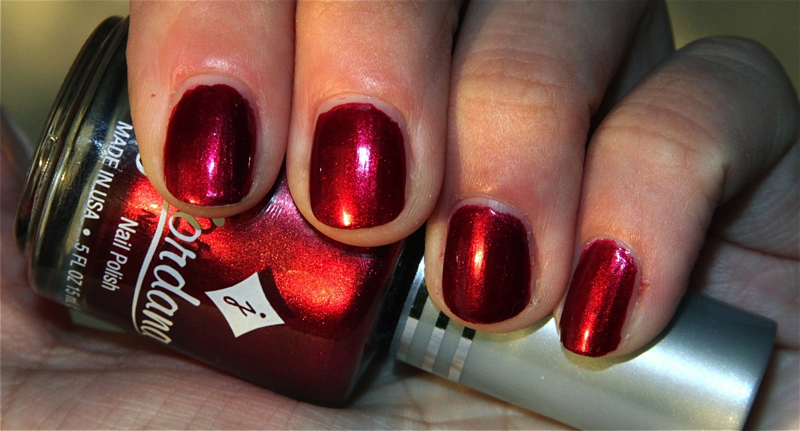 Glitter Kitty: Jordana Nail Polish - Ruby Slippers