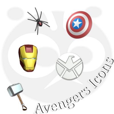Avenger Icons