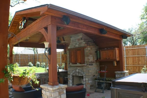 Free Standing Patio Cover Plans - AyanaHouse