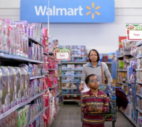 walmart commercial christmas 2015 a little heart - Walmart Christmas Commercial