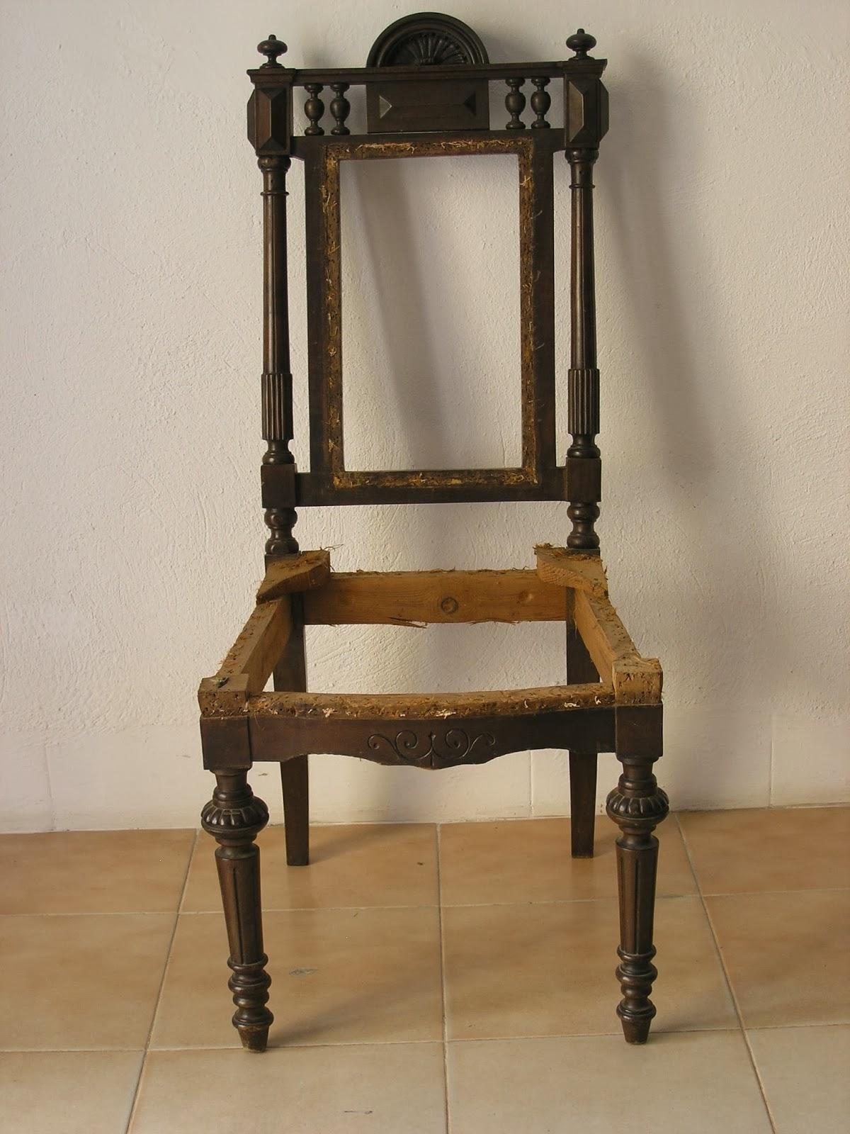 Restauraci n de mueble antiguo en valencia mueble de asiento - Restauracion muebles valencia ...