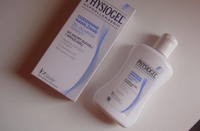 Physiogel Hypoallergenic, codzienne nawilżenie, żel do mycia twarzy.