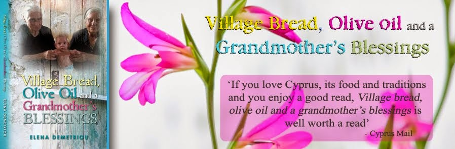 Village bread, olive oil and a grandmother's blessings