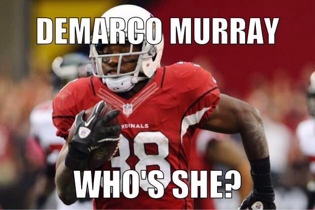 demarco murray who's she?