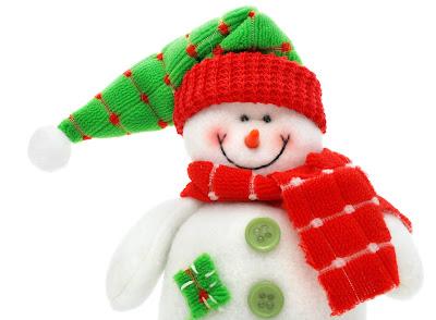 Muñeco de fieltro navideño para Navidad