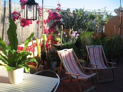 Huerto urbano dise o de una terraza con huerto - Diseno de terraza ...