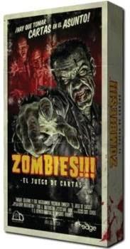 Caja del juego de cartas Zombies!!!