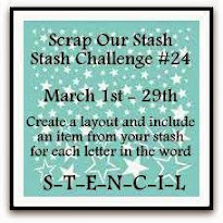Scrap Our Stash March Stash Challenge 24