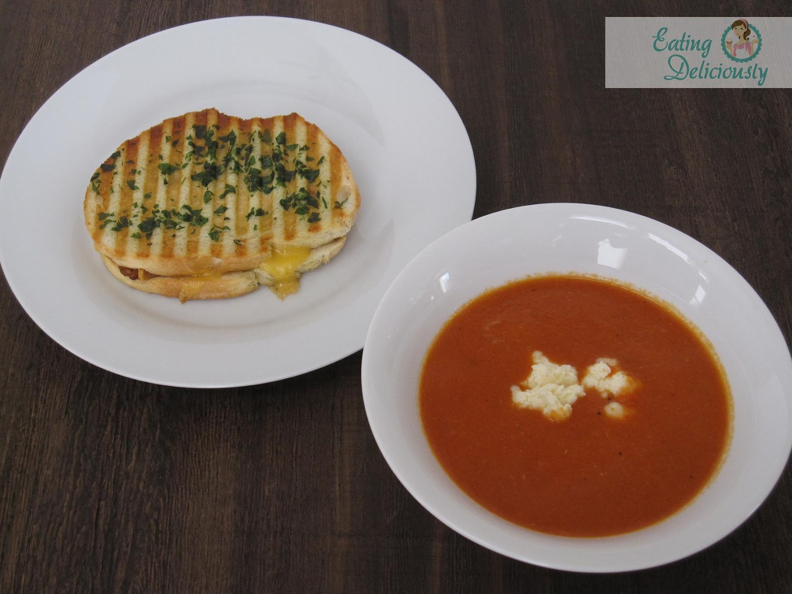 Eating Deliciously: Roasted Tomato Soup