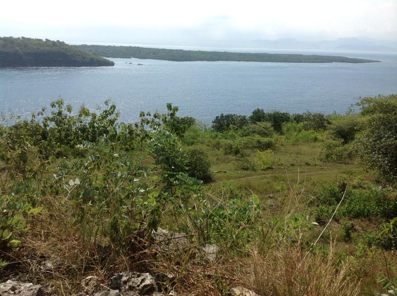 View Ceningan lokasi Tanah Sakti Nusa Penida
