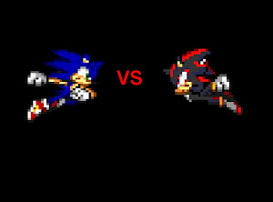sonic vs shadow pic